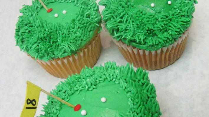 Golf_cupcakes