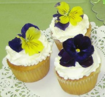 Pansy_cupcakes