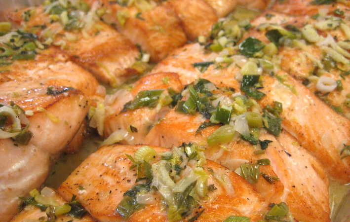 Salmon_with_ginger