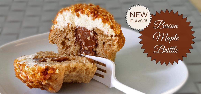 Brittle-cupcake