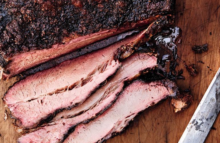 Texas-style-smoked-brisket